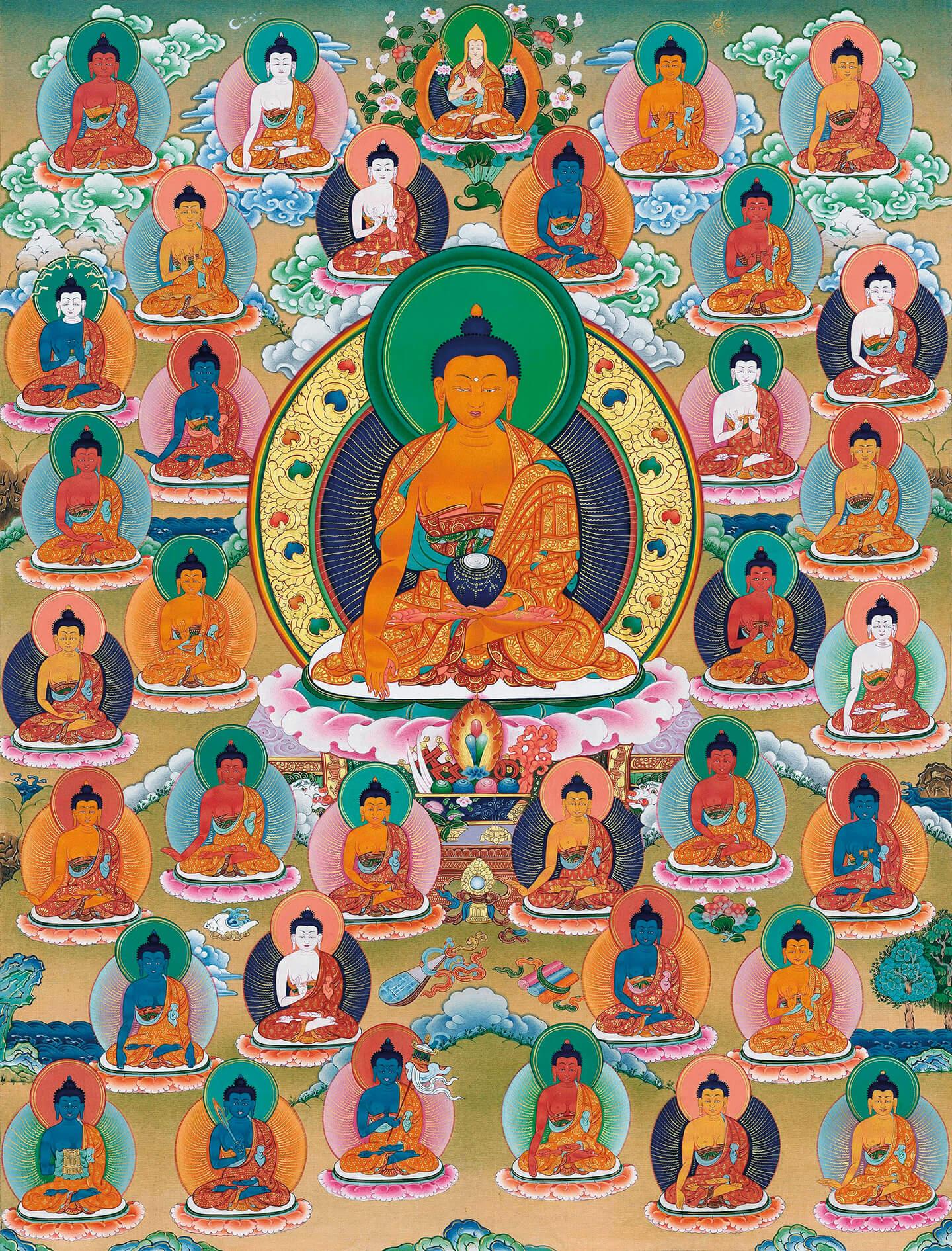 Thirty-five Confession Buddhas, buddha