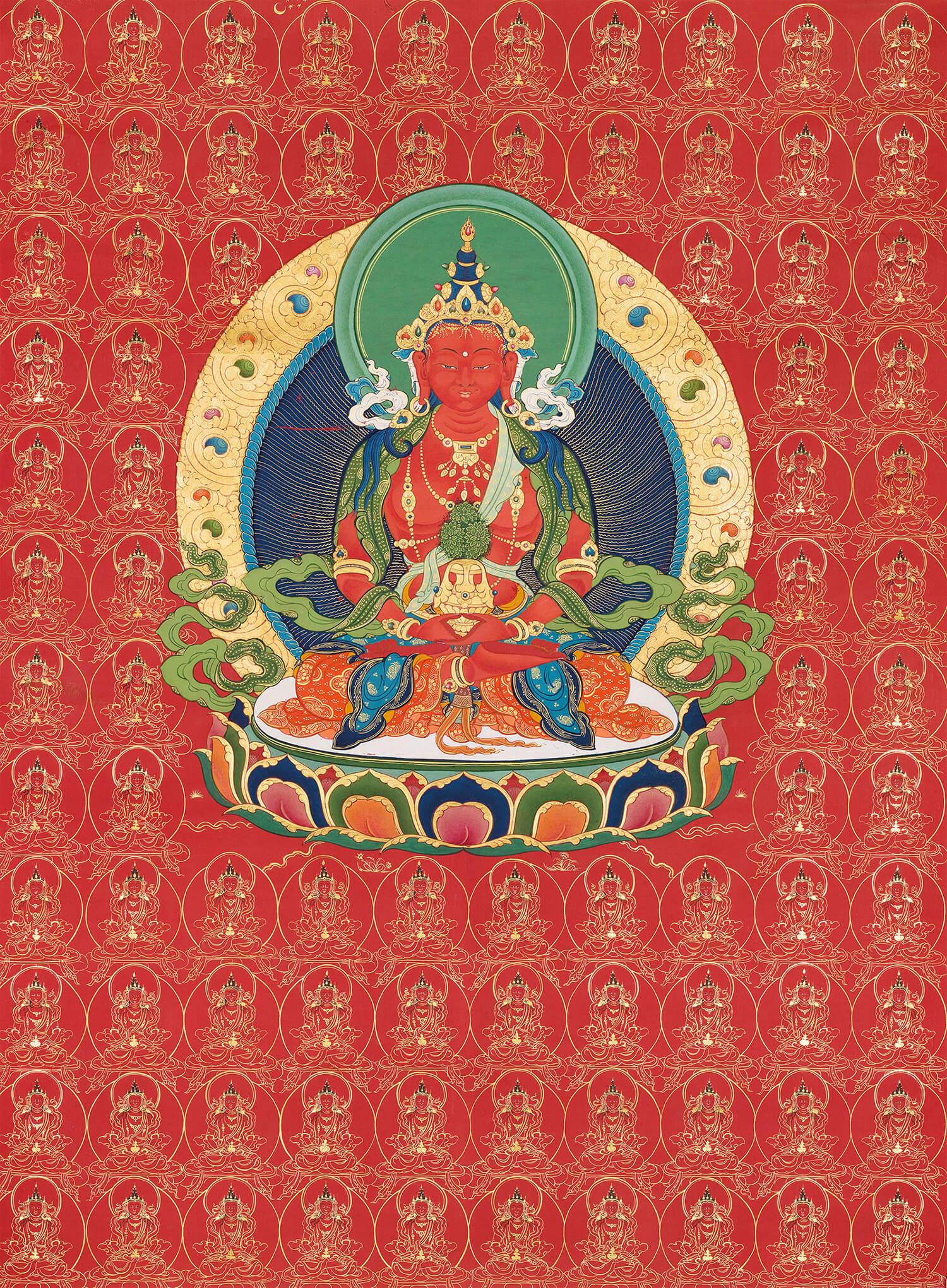 Bodhisattva Amitayus