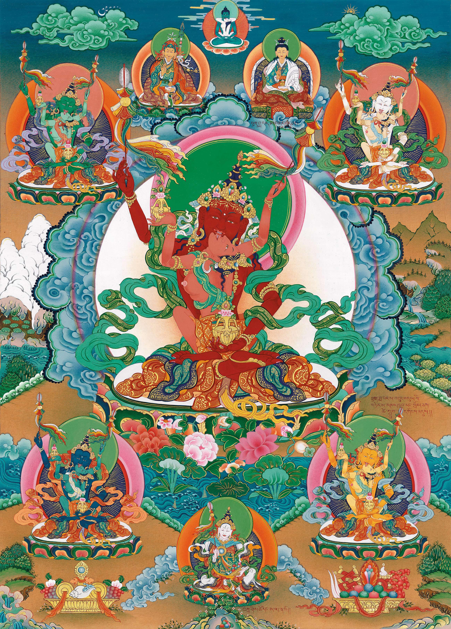 Guru Amitayus Mandala