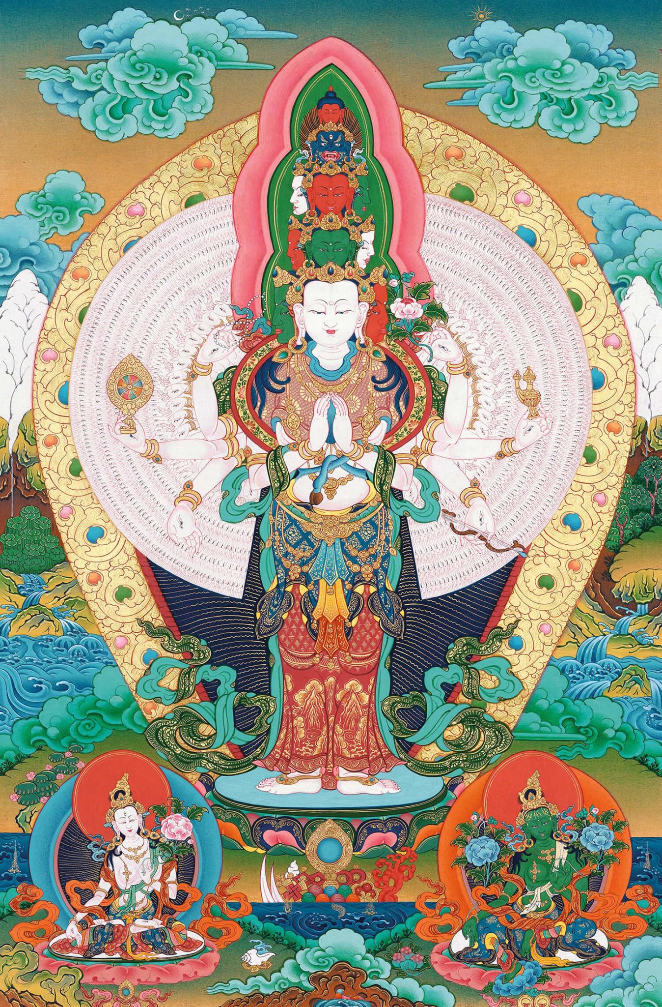 Eleven-faced Avalokiteshvara