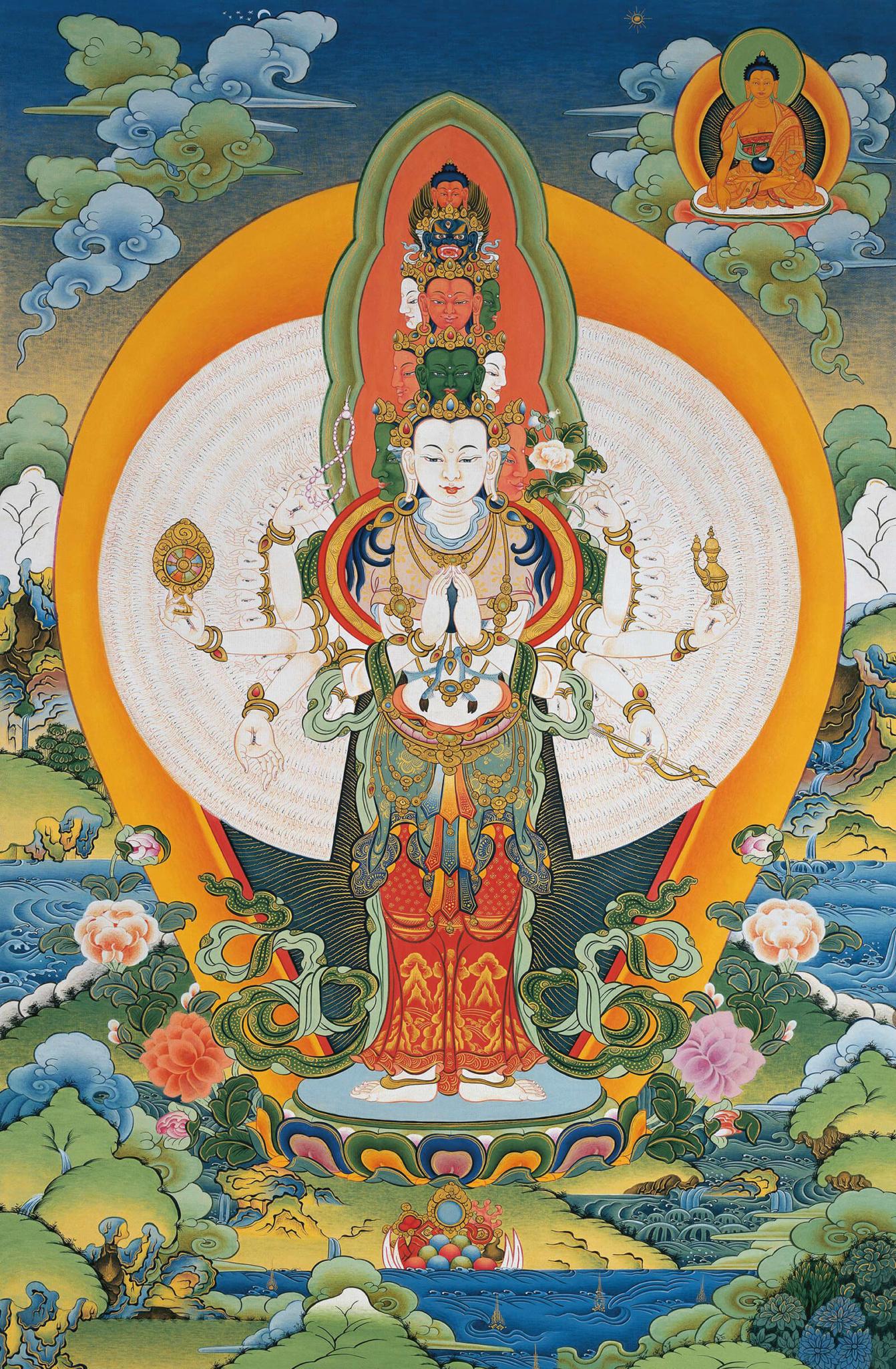 Thousand-armed Avalokiteshvara
