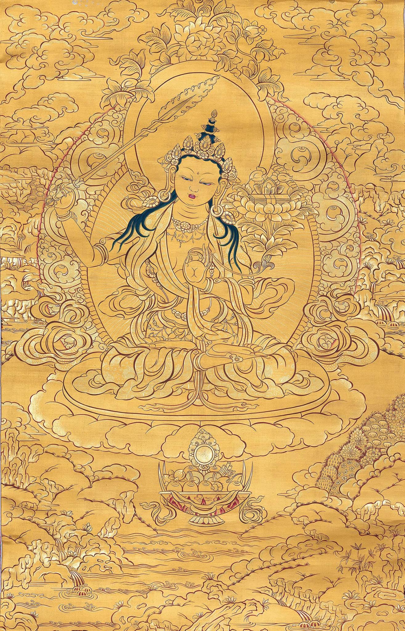 Golden Manjushri
