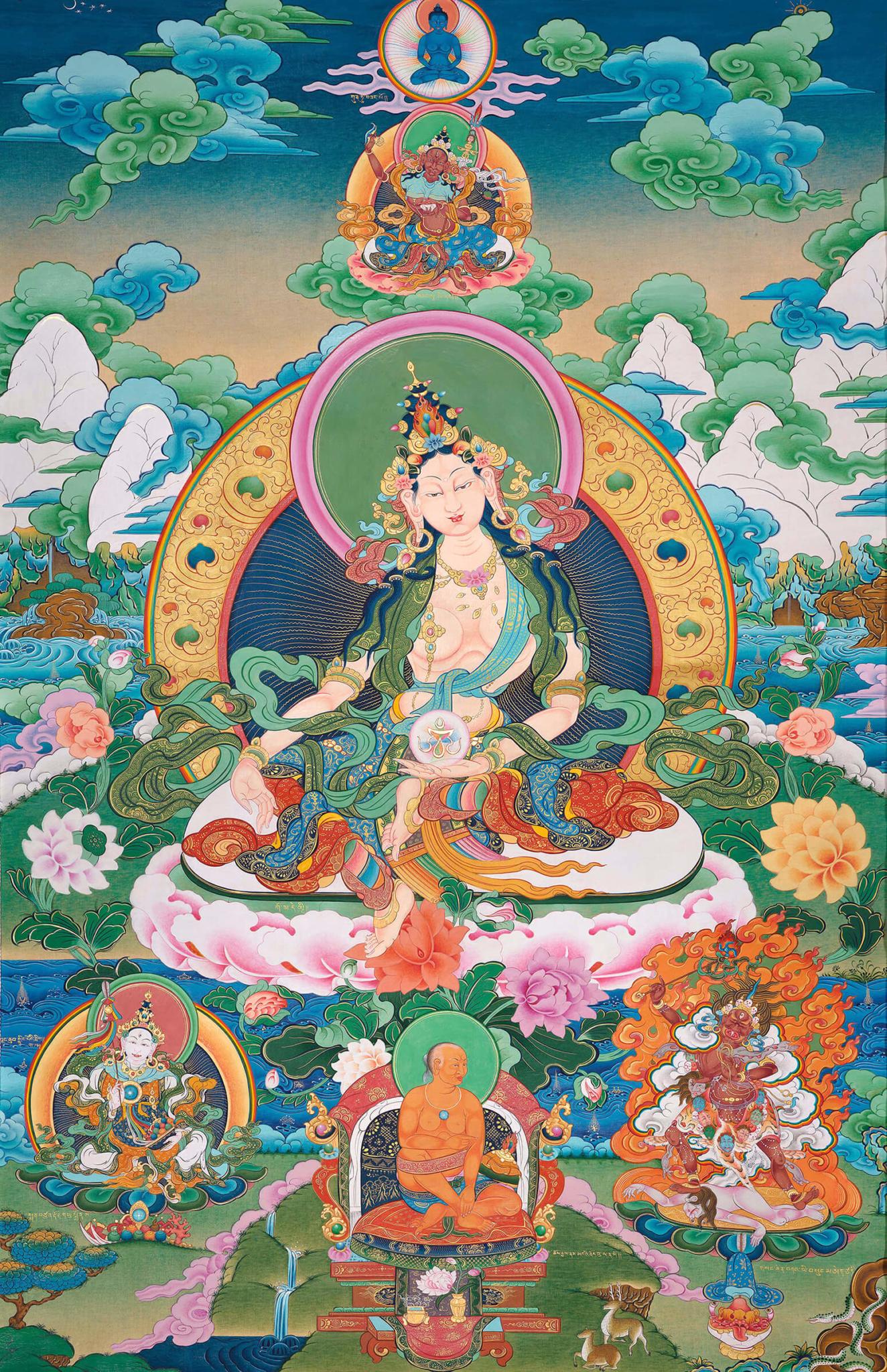 Transmission of the Longsal teachings