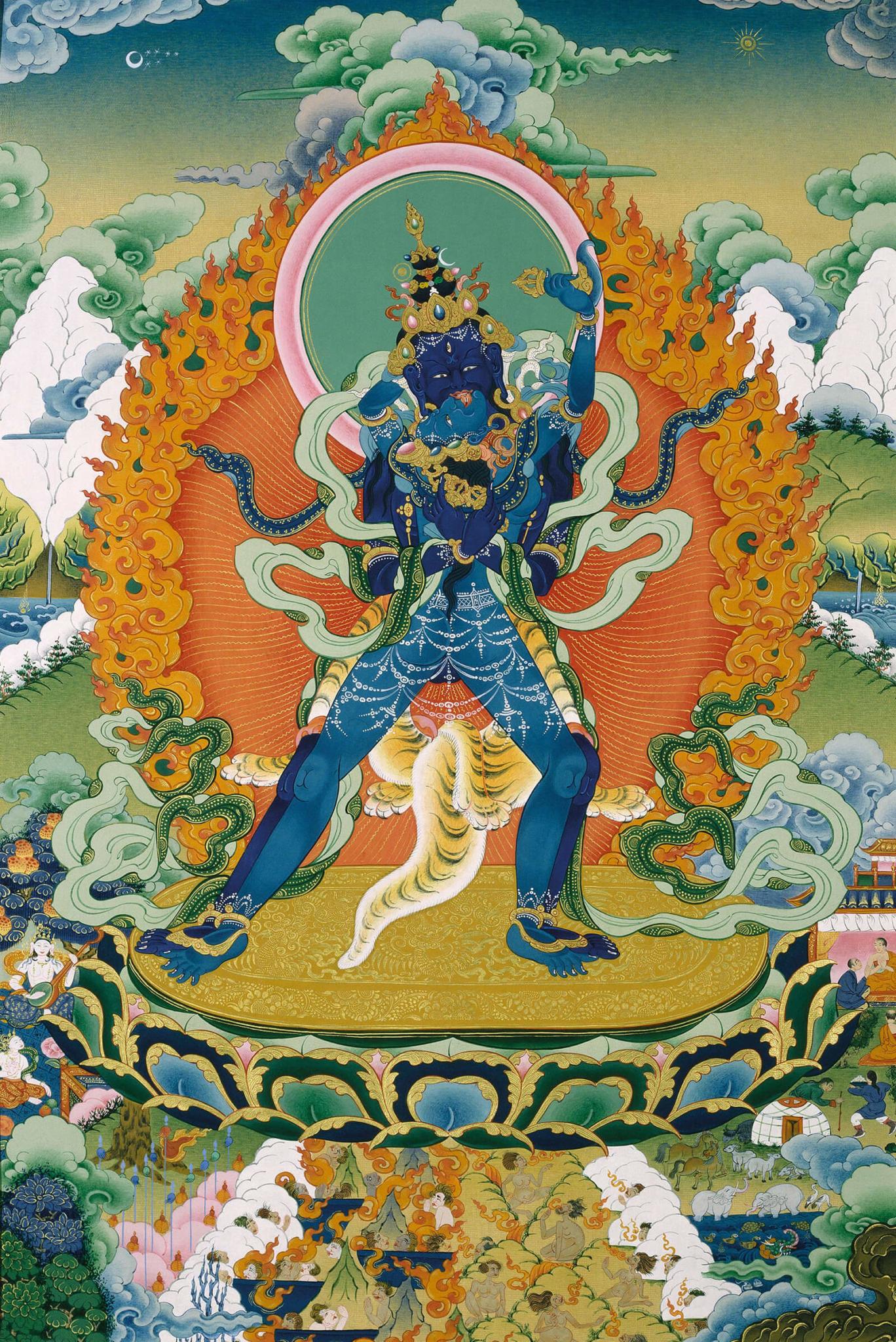 Kalachakra yab-yum