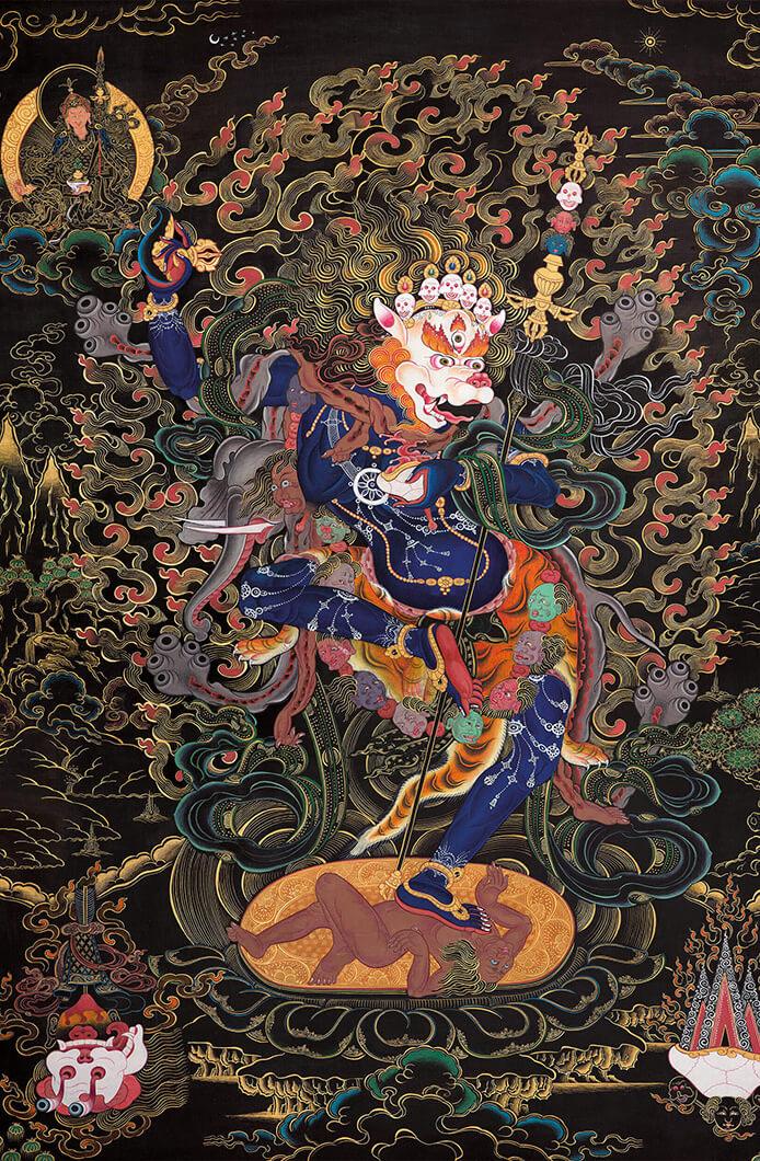 simkhamukha, dzogchen