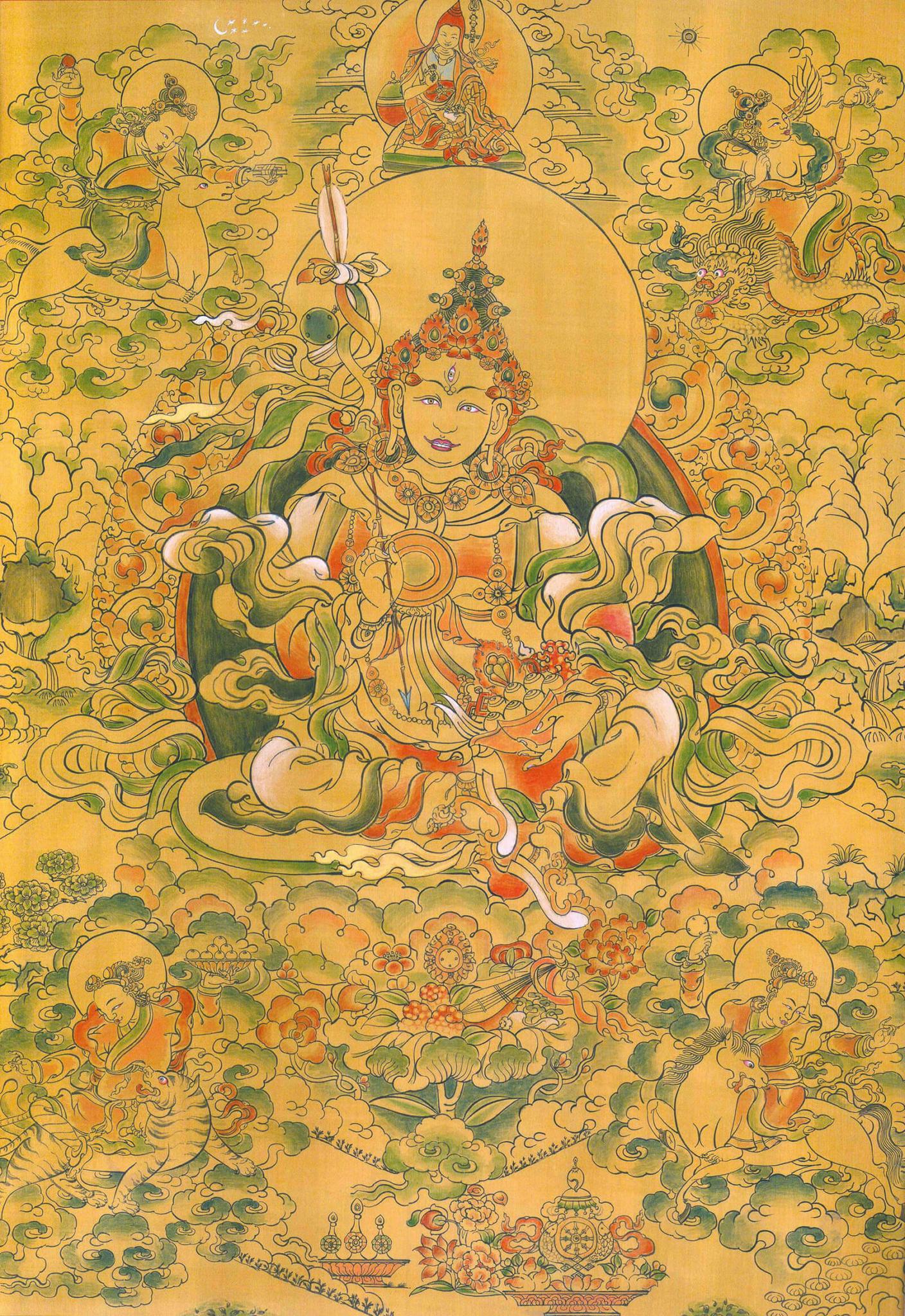 Tashi Tseringma silk
