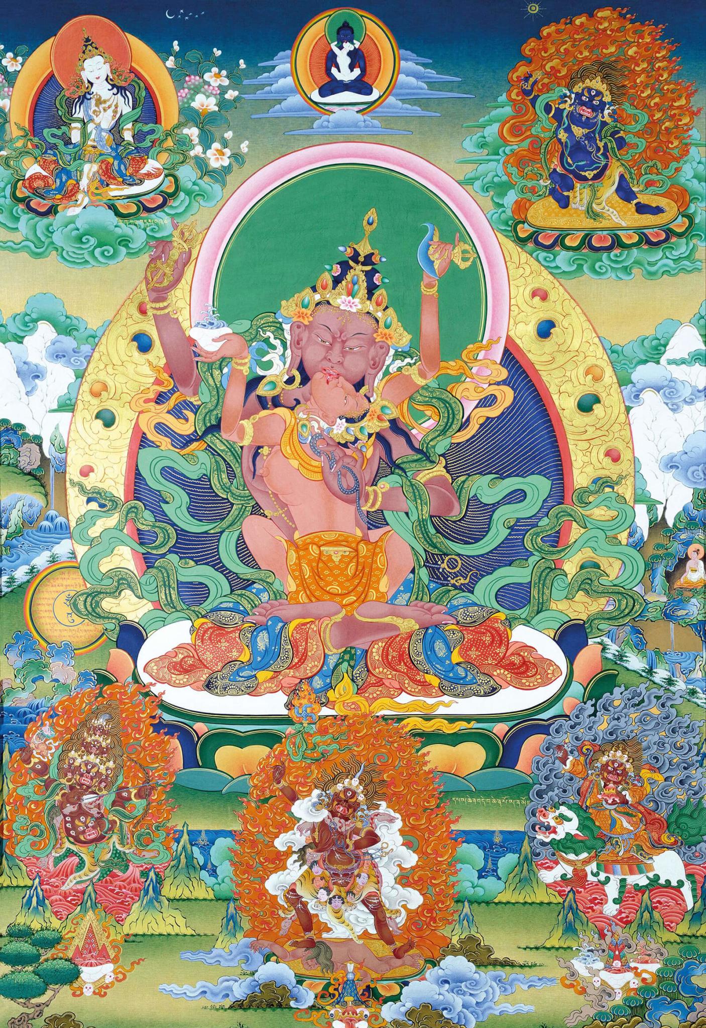 Three Forms of Vajrapani